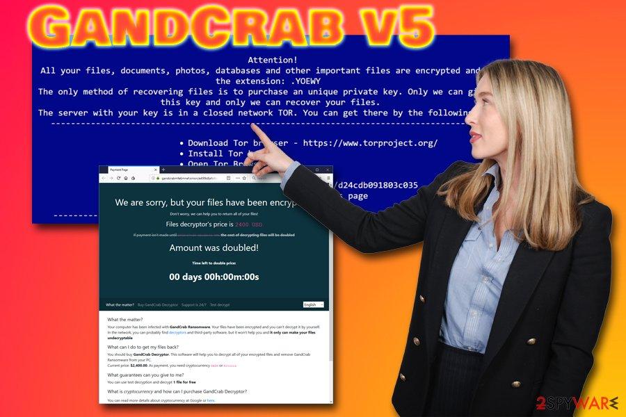 GandCrab v5 virus