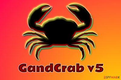 GandCrab v5 ransomware
