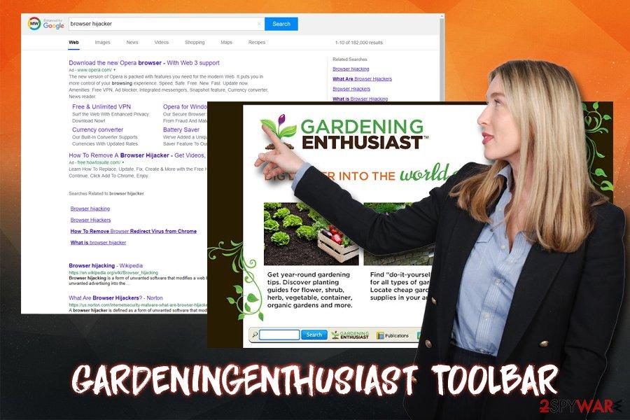 GardeningEnthusiast Toolbar PUP