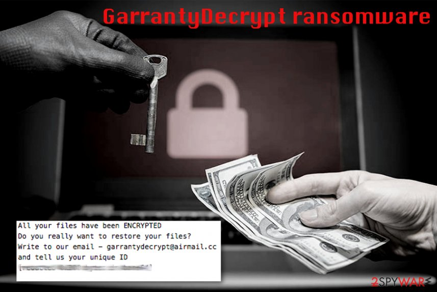 GarrantyDecrypt file extension virus