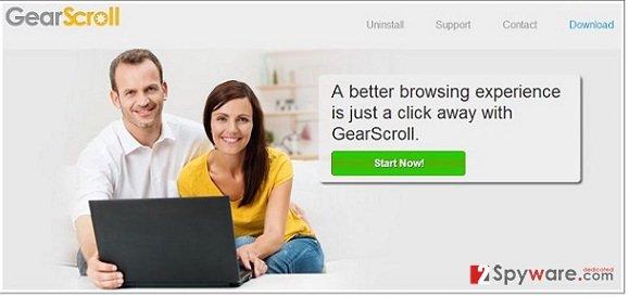 GearScroll virus