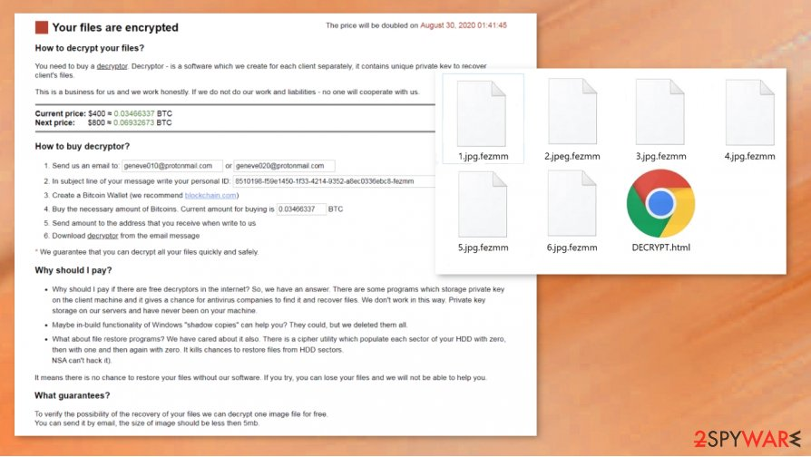 Geneve ransomware
