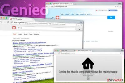 Genieo Search browser hijacker