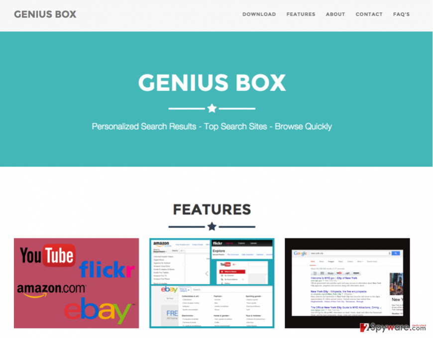 GeniusBox cover page