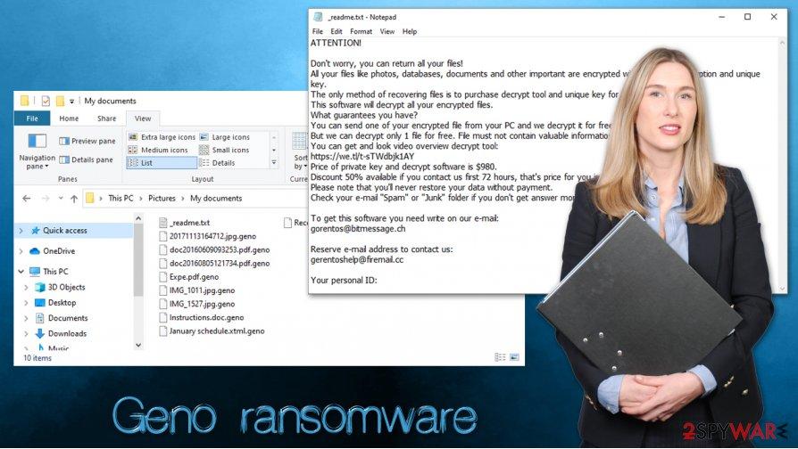 Geno ransomware virus
