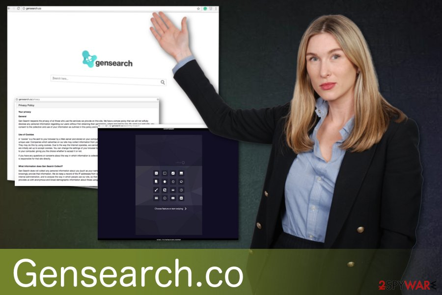 Gensearch.co fake search engine