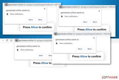 Geostream.online adware
