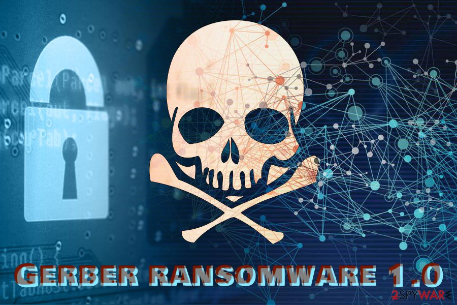Gerber ransomware 1.0