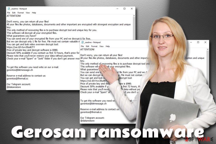 Gerosan ransomware virus