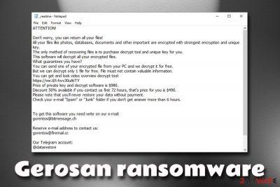 Gerosan ransomware