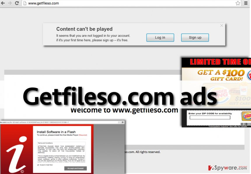 Getfileso.com virus sends ads that look trustworthy, but they can lead you to shady websites