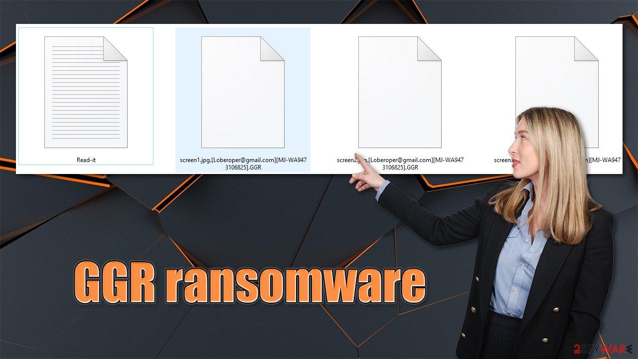 GGR ransomware virus