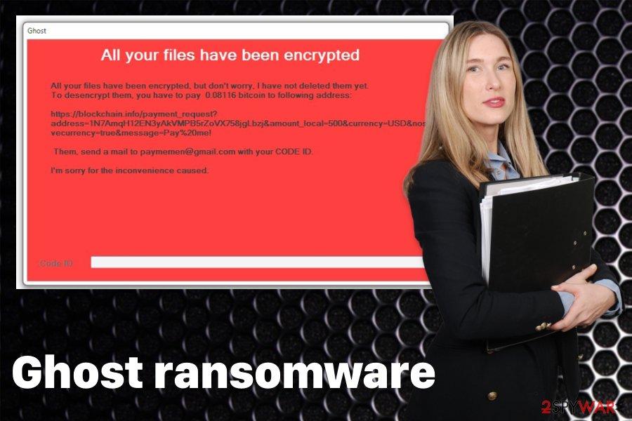 Ghost ransomware virus