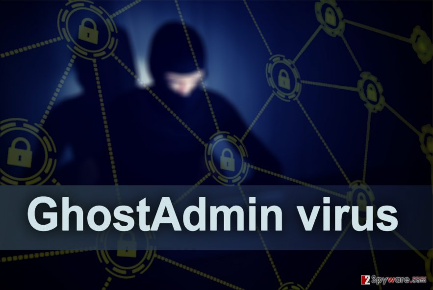 The Picture of GhostAdmin malware