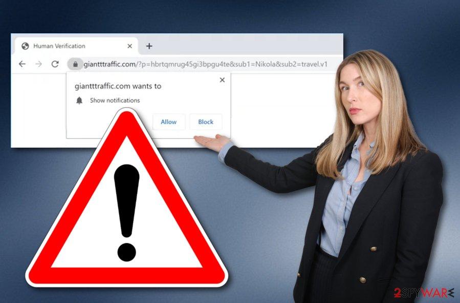 Giantttraffic.com adware