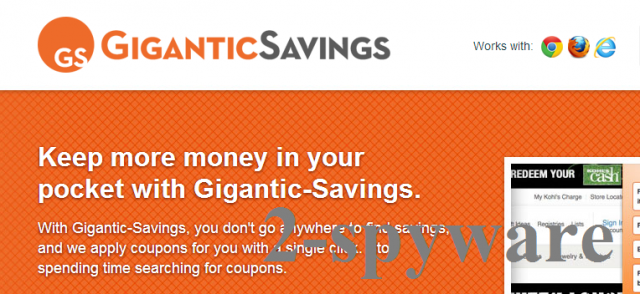 Gigantic Savings snapshot