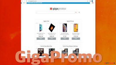 GigaPromo browser hijacker