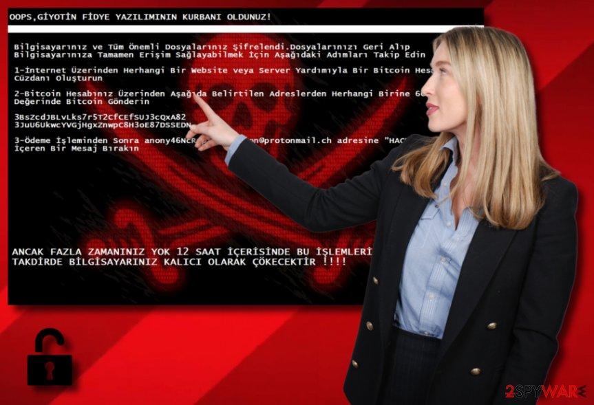 Giyotin ransomware virus