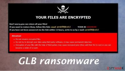 GLB ransomware
