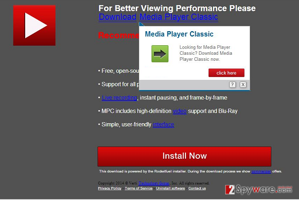 Downloadju.com pop-up virus snapshot