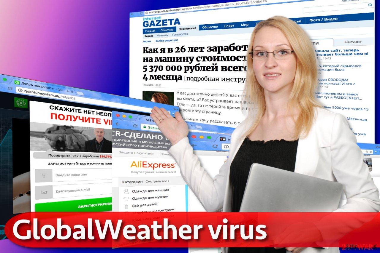 GlobalWeather virus