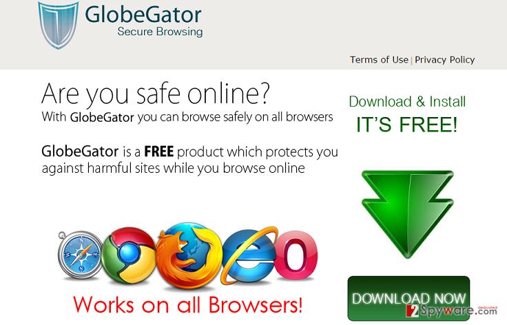 GlobeGator ads