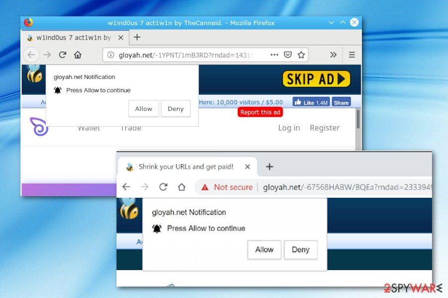 Gloyah.net PUP