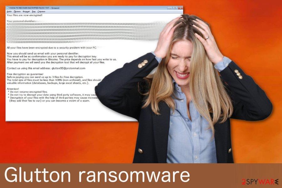 Glutton ransomware