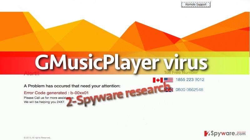 screenshot of GMusicPlayer lockscreen