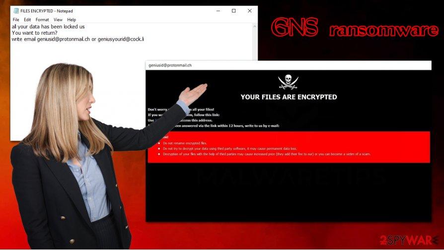 GNS ransomware virus