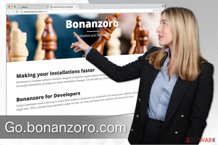 Go.bonanzoro.com illustration