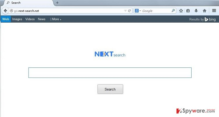 Go.next-search.net redirect