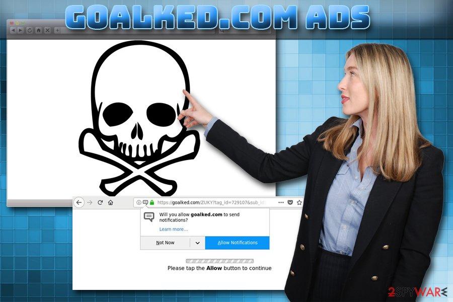 Goalked.com adware