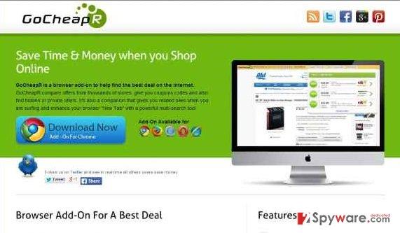 GoCheapR ads snapshot