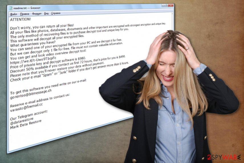 Godes ransomware virus
