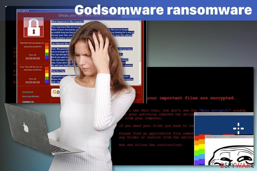 Godsomware virus