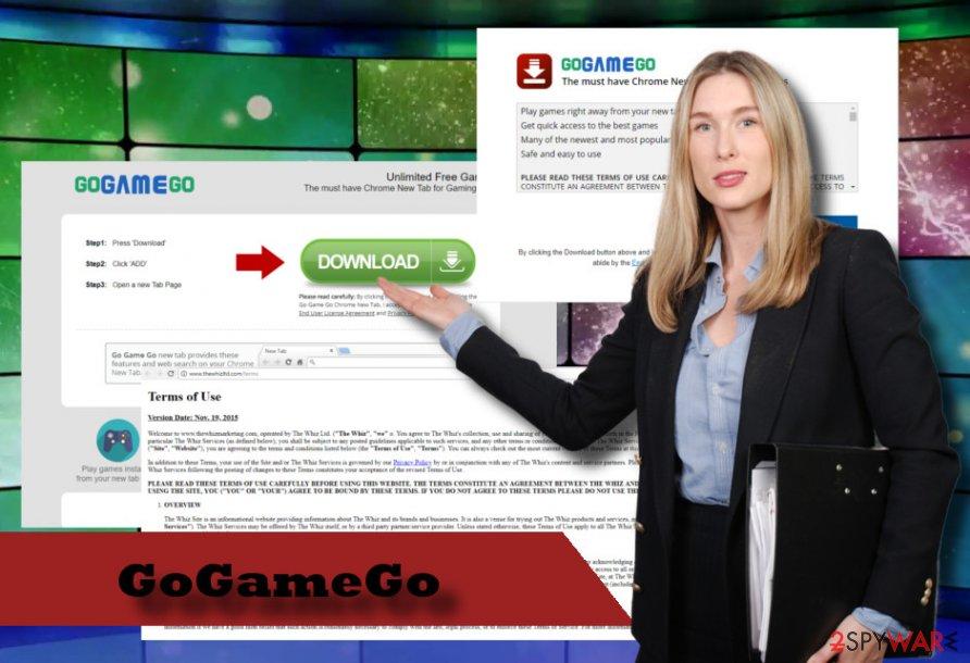 GoGameGo virus printscreen