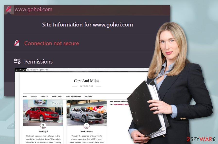 Gohoi.com virus