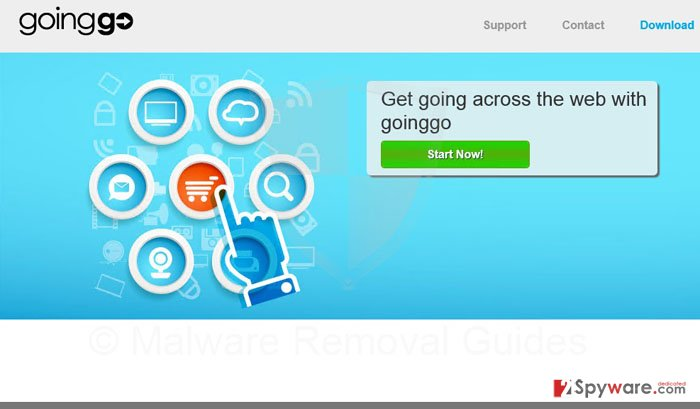 GoingGo virus snapshot
