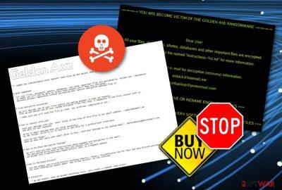 Golden Axe ransomware infection