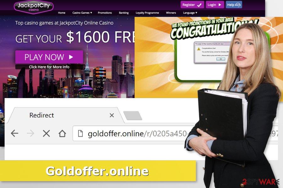 Image of Goldoffer.online virus