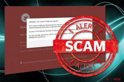 Google Chrome Support Centre scam
