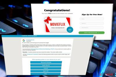 Google Customer Reward Program scam