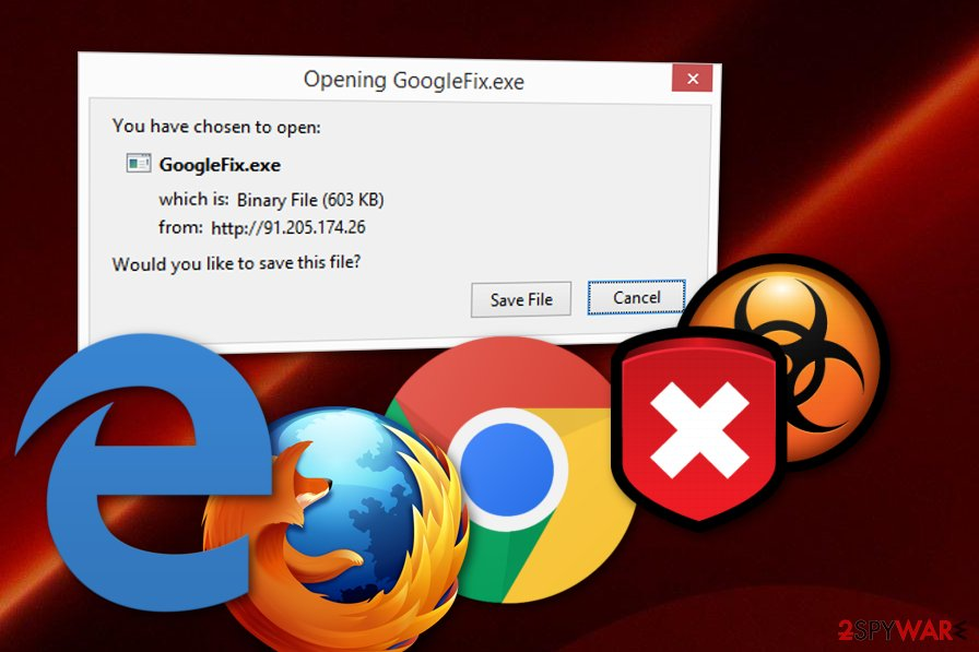 GoogleFix.exe virus