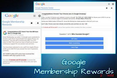 Google Membership Rewards