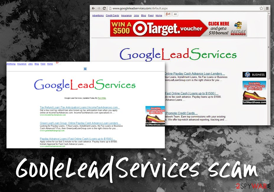 Google Redirect Google Lead Services