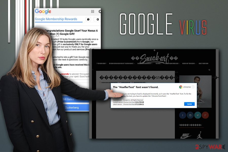 Google virus infection