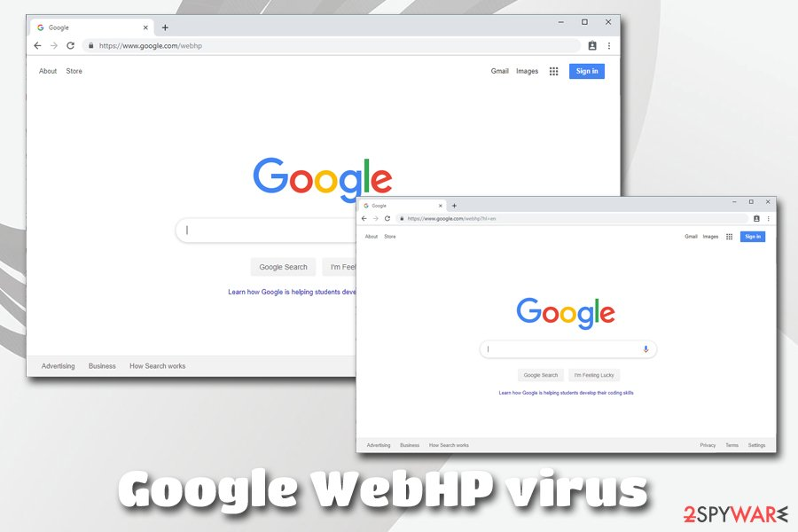 Conduit Google WebHP virus
