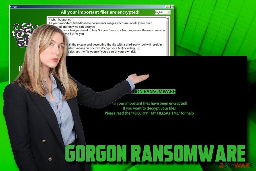 Gorgon ransomware virus