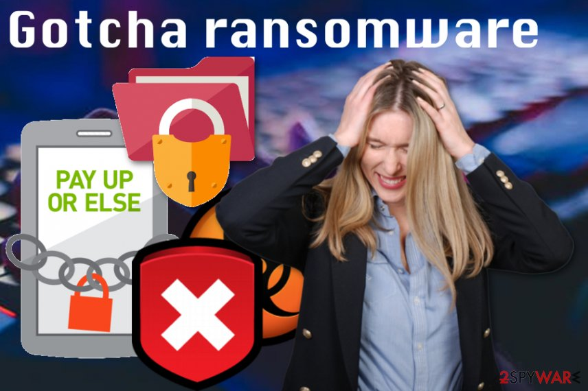 Gotcha ransomware virus